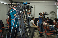 21st International AIDS Conference (AIDS 2016), Durban, South Africa.<br /> Photo shows the PEPFAR and Elton John AIDS Foundation Press Conference.<br /> Photo&copy;International AIDS Society/Steve Forrest/Workers' Photos