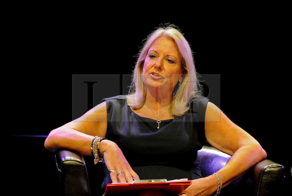 © licensed to London News Pictures. Brighton, UK. 21/05/2011. Sue Stapley speaks at a debate about Freedom of Speech entitled Article 19 at the Brighton Festival 2011. Please see special instructions for licensing information. Photo credit should read: Peter Webb/LNP