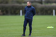 Forest Green Rovers manager, Mark Cooper at Stanley Park, Chippenham, United Kingdom on 14 January 2019.