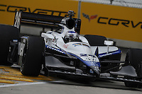 Marco Andretti, Detroit Indy Grand Prix, Bell Isle, Detroit, MI  USA  8/31/08