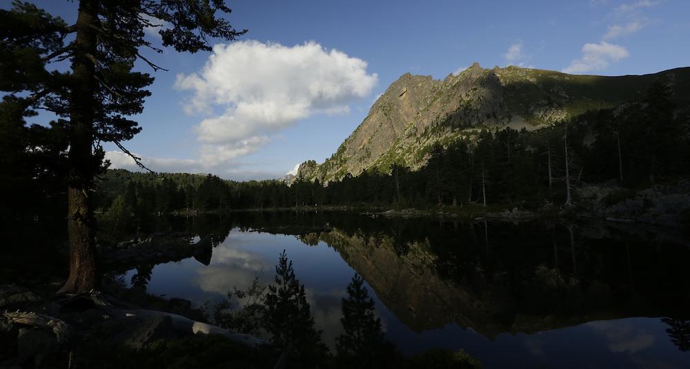 Lake Hrid (Hridsko jezero) Prokletije National Park, Montenegro.