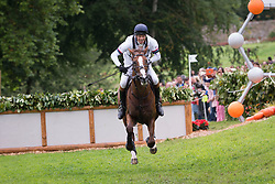 William Fox Pitt, (GBR), Chilli Morning - Eventing Cross - Alltech FEI World Equestrian Games™ 2014 - Normandy, France.<br /> © Hippo Foto Team - Jon Stroud