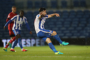 Brighton & Hove Albion striker Richie Towell (29) scores a goal 1-0 during the EFL Trophy Southern Group G match between U23 Brighton and Hove Albion and Leyton Orient at the American Express Community Stadium, Brighton and Hove, England on 8 November 2016.