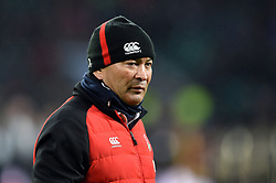 England Rugby Head Coach Eddie Jones - Mandatory byline: Patrick Khachfe/JMP - 07966 386802 - 10/02/2018 - RUGBY UNION - Twickenham Stadium - London, England - England v Wales - Natwest Six Nations