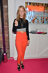ELIZA SANGSTER at Light Up Your Life - a party hosted by Lillingston held at Lights of Soho, 35 Brewer Street, London on 1st October 2015.
