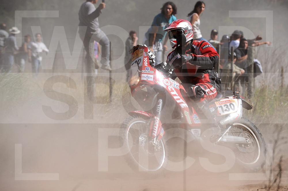 090103  Buenos Aires Argentina..Dakar rally 2009..Buenos Aires Santa Rosa..No. 130 VERMELOUX Daniel (FRA)..ffu press agency©2008frank uijlenbroek....