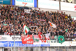 30.12.2013, Saturn-Arena, Ingolstadt, GER, DEL, ERC Ingolstadt vs Augsburger Panther, 33. Runde, im Bild Fans (Augsburger Panther) // during germans DEL Icehockey League 33th round match between ERC Ingolstadt and Augsburger Panther at the Saturn-Arena in Ingolstadt, Germany on 2013/12/30. EXPA Pictures © 2014, PhotoCredit: EXPA/ Eibner-Pressefoto/ Kolbert<br /> <br /> *****ATTENTION - OUT of GER*****