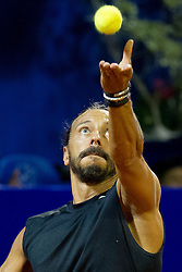 Bob Sinclar (DJ from FRA) before exhibition match at 26. Konzum Croatia Open Umag 2015, on July 22, 2015, in Umag, Croatia. Photo by Urban Urbanc / Sportida