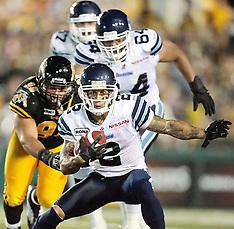 Tiger-Cats vs Argos- July 14, 2012