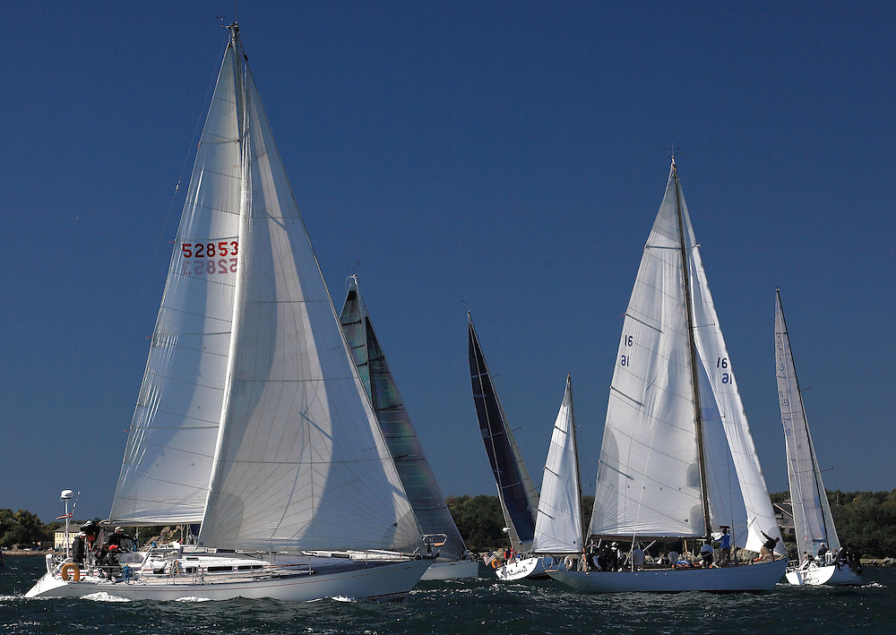 Start of the 9th Annual Sail for Hope event in Newport, RI.