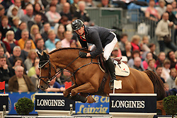 Hassmann Felix, (GER), Horse Gym's Balzaci<br /> Longines FEI World Cup presented by Sparkasse<br /> Sparkasen Cup-Grand Prix of Leipzig<br /> CSIO Leipzig 2016<br /> © Hippo Foto - Stefan Lafrentz