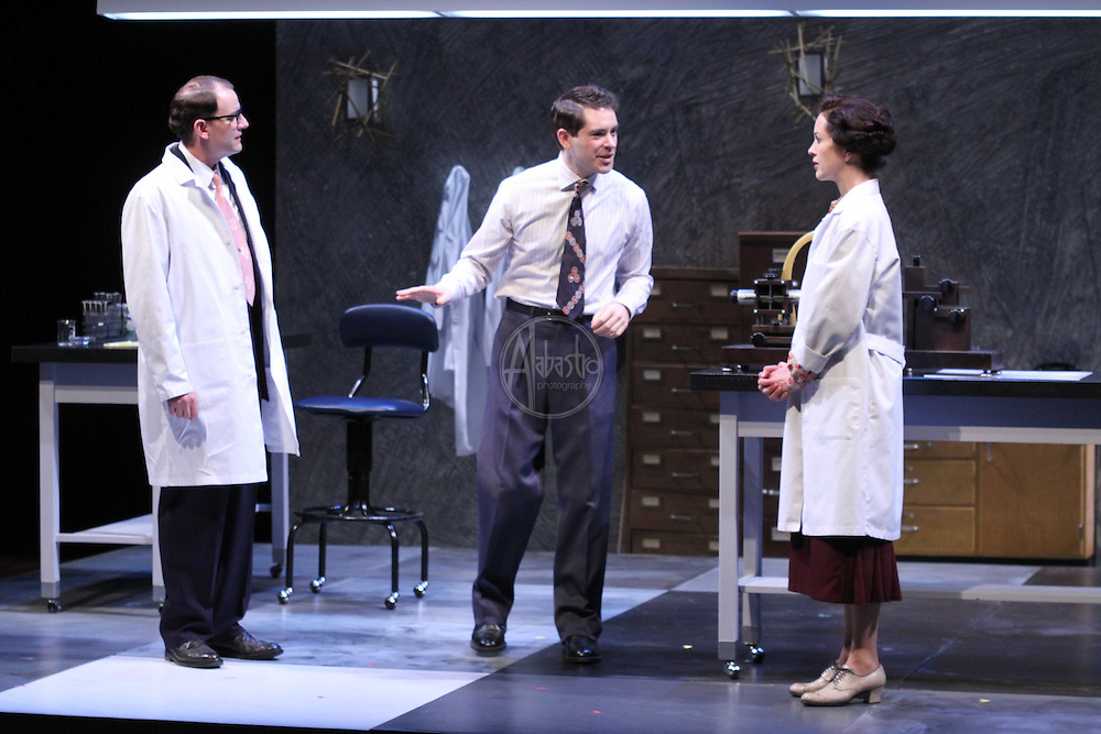 Seattle Repertory Theatre's production of Photograph 51 by Anna Ziegler and directed by Braden Abraham.