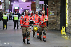 © Licensed to London News Pictures. 11/10/2019. Manchester, UK. The printworks is evacuated in Manchester City Centre. Photo credit: Joel Goodman/LNP