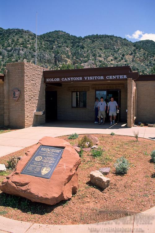 Kolob Canyons Visitor Center, Zion National Park, UTAH