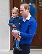 Prince George Visits Sister, St Mary's Hospital 2