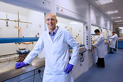 BioFocus pharmaceutical and bio-chemical laboratory, in Saffron Walden, UK. BioFocus is Galapagos N.V.s' service division and is based in the United Kingdom. BioFocus offers a full suite of target-to-drug discovery products and services to pharma, biotech and patient foundations - encompassing target and drug discovery through to the delivery of pre-clinical candidates. Galapagos, with it's headquarters in Mechelen, Belgium, has developed a target discovery platform that provides novel starting points for drug and antibody therapies, thereby addressing the industry's need for innovative, disease-modifying medicines. The Company's product portfolio consists mainly of new mode-of-action drugs in bone and joint diseases as well as programs in bone metastasis and cachexia. To enable the progression of a broad portfolio of programs, Galapagos has established risk sharing alliances with big pharma companies such as Johnson and Johnson, GlaxoSmithkline and Roche, and Janssen Pharmaceutica, in specific disease areas. Through an alliance with MorphoSys, Galapagos is also developing new antibody therapies in bone and joint diseases. (Photo © Jock Fistick)