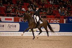 Haid Bondergaard Charlotte (SWE) - Lydianus<br /> Stockholm International Horse Show 2009<br /> Photo© Hippo Foto - Rinaldo de Craen