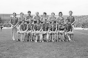 The Cork team before the All Ireland Senior Hurling Final, Cork v Wexford in Croke Park on the 5th September 1976. Cork 2-21, Wexford 4-11.<br />