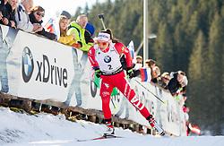 WIERER Dorothea (ITA) competes during Women 10 km Pursuit at day 3 of IBU Biathlon World Cup 2014/2015 Pokljuka, on December 20, 2014 in Rudno polje, Pokljuka, Slovenia. Photo by Vid Ponikvar / Sportida