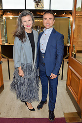 TRACEY ULLMAN and JAMES DOYLE arriving at Swan Lake at The Royal Albert Hall, London on 2nd June 2016.