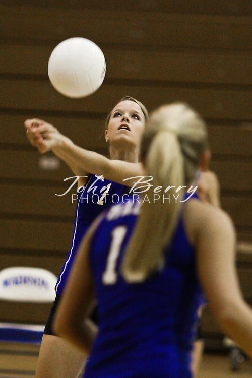 MCHS Varsity Volleyball .vs Manassas Park .10/7/2008