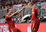 Fussball DFB Pokal 2012/13: FC Bayern Muenchen - Wolfsburg