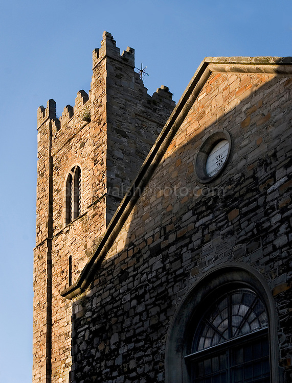 St. Michan's Church in Central Dublin. The building - some of which dates back to the 11th century - has a series of crypts, which house 'naturally mummified' corpses