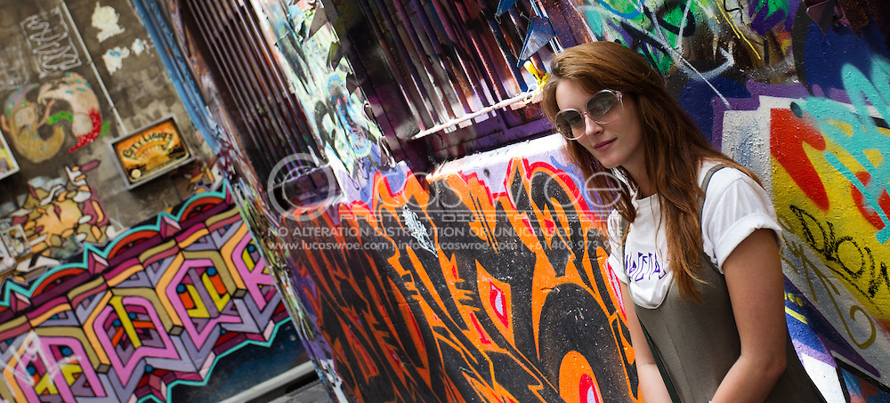 Hosier Lane, Melbourne, Victoria, Australia. Photo By Lucas Wroe