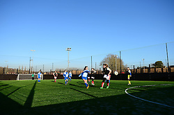 Bradley Stoke Community school represent Bristol Rovers at the EFL Cup held at South Bristol Sports Centre playing against Swindon Town - Mandatory by-line: Dougie Allward/JMP - 05/01/2017 - FOOTBALL - South Bristol Sports Centre - Bristol, England - EFL Girls Cup