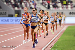 2019 IAAF World Athletics Championships held in Doha, Qatar from September 27- October 6<br /> Day 2<br /> womens 10000 USA