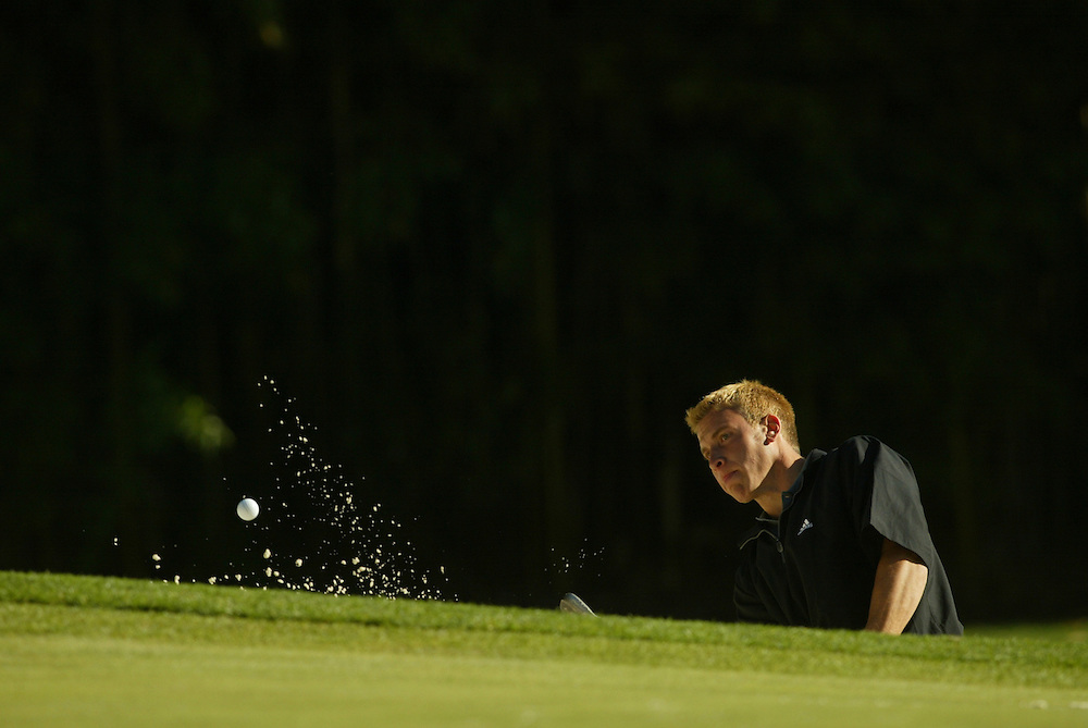 MASTERS '03..SATURDAY - APRIL 12, 2003 - AM..AUGUSTA, GA...DARREN CARROLL