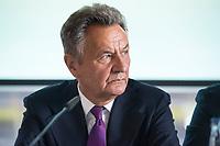 13 JUN 2017, BERLIN/GERMANY:<br /> Michael Frenzel, Praesident des Wirtschaftsforums der SPD, waehrend der Mitgliederversammlung Wirtschaftsforum der SPD, Humboldt-Box<br /> IMAGE: 20170613-01-103