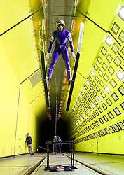 24.07.2015, Klima Wind Kanal, Wien, AUT, OESV, Skisprung, Training im Wind Kanal , im Bild Gregor Schlierenzauer// during a trainingssession of the Austrian ski jumping team in the Climatic Wind Tunnel, Vienna, Austria on 2014/07/24. EXPA Pictures © 2015, PhotoCredit: EXPA/ Sebastian Pucher