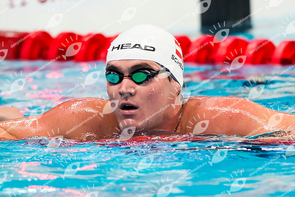 SCHERUBL Christian AUT<br /> 100 Freestyle Men Heats<br /> Swimming - Kazan Arena<br /> Day13 05/08/2015<br /> XVI FINA World Championships Aquatics Swimming<br /> Kazan Tatarstan RUS July 24 - Aug. 9 2015 <br /> Photo A.Masini/Deepbluemedia/Insidefoto