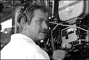 "Arthur Blum on the set of ""Ghost Town"" (Dir: David Koepp, 2008)"