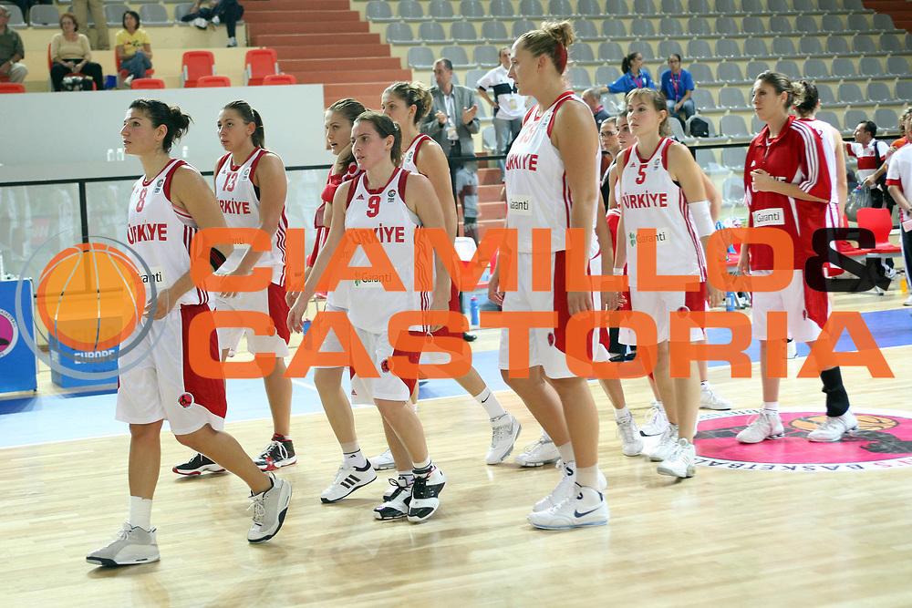 DESCRIZIONE : Vasto Italy Italia Eurobasket Women 2007 Turchia Lettonia  Turkey Latvia<br /> <br /> GIOCATORE :<br /> <br /> SQUADRA : <br /> Turchia Turkey<br /> EVENTO : Vasto Euro Basket Women 2007<br /> <br /> GARA : Turchia Lettonia  Turkey Latvia<br /> <br /> DATA : 24-09-2007<br /> <br /> CATEGORIA:<br /> <br /> SPORT : Pallacanestro <br /> <br /> AUTORE : Agenzia Ciamillo-Castoria/G.Landonio <br /> <br /> Galleria : Fip Nazionali 2007 <br /> <br /> Fotonotizia : Vasto Euro Basket Women 2007<br /> <br /> Turchia Lettonia  Turkey Latvia<br /> <br /> Predefinita :