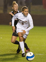 Virginia Cavaliers M/F Shannon Foley (5)..The #3 ranked Virginia Cavaliers Women's Soccer team faced the Maryland Terrapins at Klockner Stadium in Charlottesville, VA on October 25, 2007.