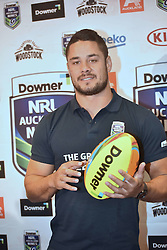 October 26, 2016 - Auckland, Auckland, New Zealand - Jarryd Hayne poses for a photo  during  a media conference in Auckland, New Zealand. Jarryd Hayne is a world class international NRL player, He is announcing he is playing the Downer NRL Auckland Nines next year. (Credit Image: © Shirley Kwok/Pacific Press via ZUMA Wire)