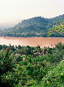 View of the Mekong River and the Royal Palace Museum.