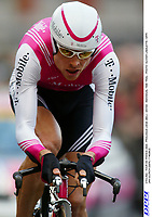 CYCLING - TOUR DE FRANCE 2004 - PROLOGUE LIEGE (BEL) - 3/07/04 - INDIVIDUAL TIME TRIAL - PHOTO: OLIVIER LABALETTE / DPPI<br />