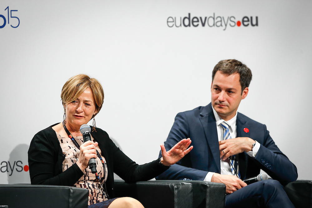 04 June 2015 - Belgium - Brussels - European Development Days - EDD - Education - Right to quality education - Yoka Brandt , Deputy Executive Director of UNICEF © European Union