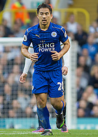 Football - 2016 / 2017 Premier League - Tottenham Hotspur vs. Leicester City<br /> <br /> Shinji Okazaki of Leicester City at White Hart Lane.<br /> <br /> COLORSPORT/DANIEL BEARHAM