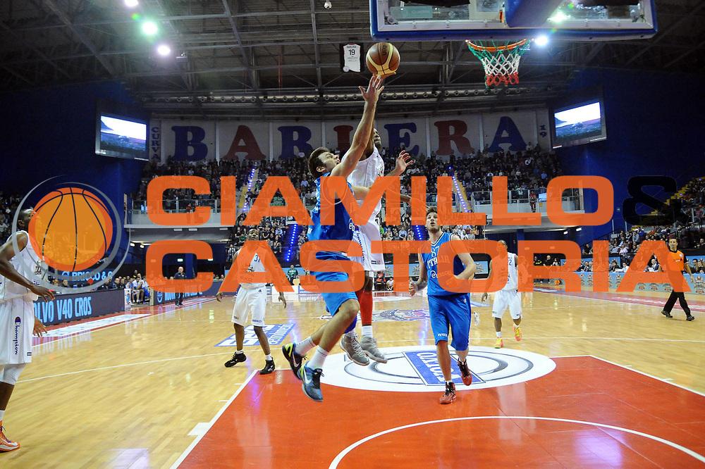 DESCRIZIONE : Biella Beko All Star Game 2012-13<br /> GIOCATORE : Stefano Gentile<br /> CATEGORIA : Penetrazione Tiro<br /> SQUADRA : Italia Nazionale Maschile<br /> EVENTO : All Star Game 2012-13<br /> GARA : Italia All Star Team<br /> DATA : 16/12/2012 <br /> SPORT : Pallacanestro<br /> AUTORE : Agenzia Ciamillo-Castoria/S.Ceretti<br /> Galleria : FIP Nazionali 2012<br /> Fotonotizia : Biella Beko All Star Game 2012-13<br /> Predefinita :