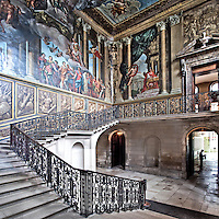 The King's Staircase, Hampton Court Palace