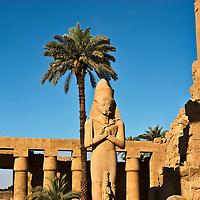 Ramses II at Karnak