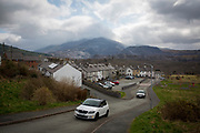 The streets of Bethesda overlooked by Snowdonia in Gwynedd, Wales. The population of Bethesda is currently around only 4,327 according to a 2001 census. (photo by Andrew Aitchison / In pictures via Getty Images)