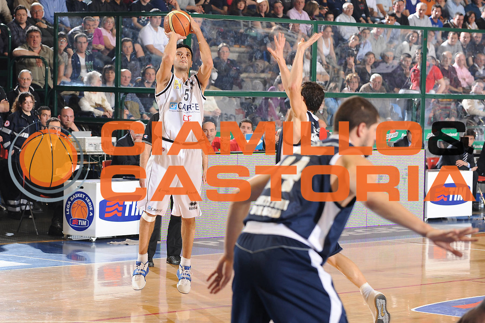 DESCRIZIONE : Ferrara Lega A 2008-09 Carife Ferrara GMAC Fortitudo Bologna<br /> GIOCATORE : Daniel Farabello<br /> SQUADRA : Carife Ferrara<br /> EVENTO : Campionato Lega A 2008-2009<br /> GARA : Carife Ferrara GMAC Fortitudo Bologna<br /> DATA : 21/03/2009<br /> CATEGORIA : tiro<br /> SPORT : Pallacanestro<br /> AUTORE : Agenzia Ciamillo-Castoria/M.Marchi