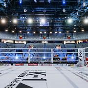 CRO/Zagreb/20130315- K1 WGP Finale Zagreb, ring, leeg stadion,