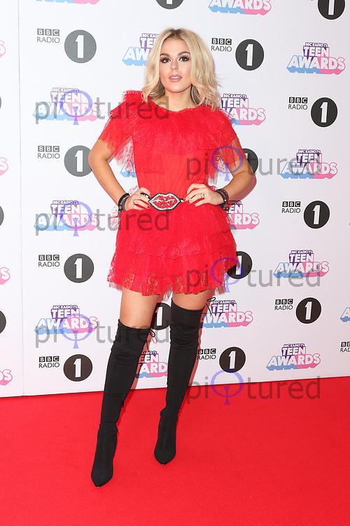 Tallia Storm, Radio 1 Teen Awards, SSE Arena Wembley, London UK, 22 October 2017, Photo by Richard Goldschmidt