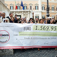 Restitution day del M5S